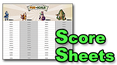 Download Fur vs Scale Score Sheets!