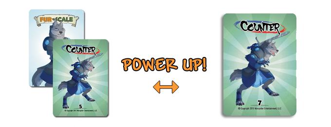 Power up your cards!